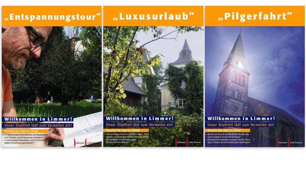 Broschüren in englisch und deutsch